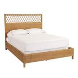 Suzanne Kasler Southport Rattan Bed Queen - Ballard Designs