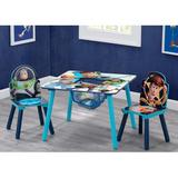 Delta Children Disney Pixar Toy Story 3 Piece Writing Table & Chair SetWood in Blue/Brown, Size 17.72 H x 24.0 W x 24.0 D in   Wayfair