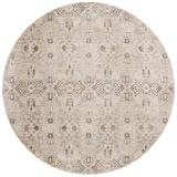 World Menagerie Fuhrman Ivory Area Rug Polyester/Viscose in White, Size 94.0 H x 94.0 W x 0.25 D in | Wayfair DEF0A584639F4721873170270716204A
