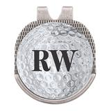 Stamp Out Online Golf Equipment Silver - Silvertone Initials Personalized Golf Marker