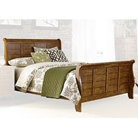 Liberty Furniture 175-BR-KSL Grandpa's Cabin Sleigh Bed, King, Aged Oak
