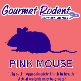 Frozen Pinkie Mouse, Count of 25, 25 CT