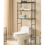 Pilaster Designs Furnishing Accessories Copper - Copper Bathroom Rack Organizer
