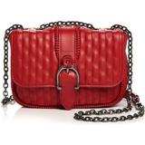 Amazone Quilted Mini Crossbody - Red - Longchamp Shoulder Bags