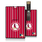 """""""St. Louis Cardinals 1966-1997 Cooperstown Pinstripe Credit Card USB Drive"""""""