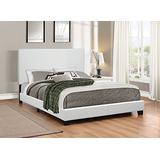 Coaster 300559Q-CO Upholstered Queen Platform Bed, In White