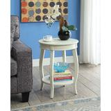 Aberta Side Table in Antique White - Acme Furniture 82785