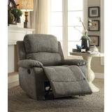 Bina Recliner (Motion) in Gray P-Mfb - Acme Furniture 59528