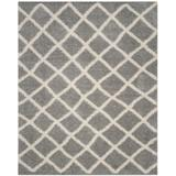Dallas Shag Collection 11' X 15' Rug in Grey And Ivory - Safavieh SGD258G-1115