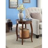 Aberta Side Table in Walnut - Acme Furniture 82789