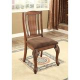 Astoria Grand Oldbury Naite Dining Chair Wood/Upholstered in Brown, Size 41.0 H x 21.0 W x 25.25 D in | Wayfair 3342E90256F247F3936B41038A731461