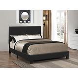 Coaster 300558Q-CO Upholstered Queen Platform Bed, In Black