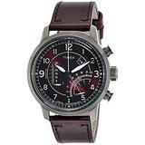 Timex Waterbury Linear Quartz Movement Red Dial Men's Watch TW2R69200