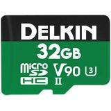 Delkin Devices 32GB POWER UHS-II microSDHC Memory Card DDMSDG200032