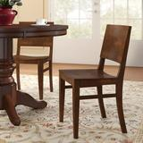 Regal Beechwood Back Solid Wood Seat Dining ChairWood in Brown, Size 33.5 H x 17.5 W x 19.0 D in   Wayfair R438W