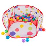 Hey! Play! Kids Pop-up Six-sided Ball Pit Tent, Multicolor