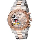 Invicta Men's Disney Limited Edition Quartz Watch with Stainless Steel Strap, Silver, 21.1 (Model: 27391)