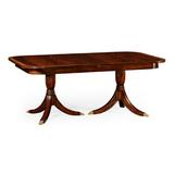 Jonathan Charles Fine Furniture Extendable Dining Table Wood in Brown/Red, Size 30.0 H in   Wayfair 492266-75L-MAH