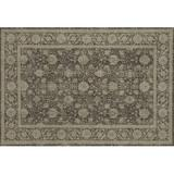 ED Ellen DeGeneres Crafted by Loloi Oriental Natural/Slate Area Rug Polypropylene in Gray, Size 130.0 H x 94.0 W x 0.25 D in | Wayfair