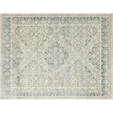 ED Ellen DeGeneres Crafted by Loloi Trousdale Oriental Ivory/Blue Area Rug Viscose in White, Size 47.0 W x 0.25 D in | Wayfair TROUTX-02IVBB3B57