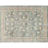 ED Ellen DeGeneres Crafted by Loloi Power Loom Blue Area Rug Viscose in White, Size 67.0 H x 47.0 W x 0.25 D in | Wayfair TROUTX-07BB003B57