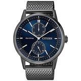 Citizen BU3027-83L Analog Quartz Black Stainless Steel Men's Watch