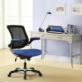 Edge office chair, mesh seat, mesh back - EEI-594-BLU