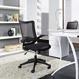 Explorer Mid Back Office Chair in Black EEI-1104