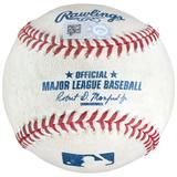 """Jackie Bradley Jr. Boston Red Sox Game-Used Sacrifice Fly Baseball vs. Washington Nationals on July 4 2018"""