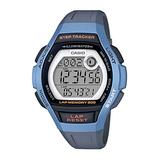 CASIO Grey Plastic Watch-LWS-2000H-2AVEF