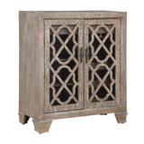 Two Door Wine Cabinet in Bronte Light Brown - Coast to Coast 40260