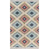 Novogratz by Momeni Indio 100% Wool Hand Made Contemporary Area Rug, 5' X 7', Multi