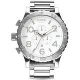 51 - 30 Chronograph Watch - Metallic - Nixon Watches
