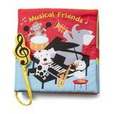 DEMDACO Sound and Electronic Books LOVE - Musical Friends Cloth Sound Book