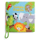 DEMDACO Sound and Electronic Books LOVE - Jungle Friends Cloth Sound Book