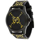 Women's GG Rubber Strap Watch, 38mm - Black - Gucci Watches