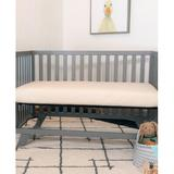 Naturepedic Organic 2-Stage Breathable Standard Crib & Toddler Mattress in Yellow, Size 6.0 H x 27.25 W x 51.625 D in | Wayfair MC46