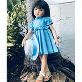 Maru and Friends Dolls - Blue Dress Maru Collectible Mini Doll