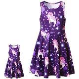 "Me and My Doll Matching Doll Dress Unicorn Dress Purple 18"" Dolls Clothes"