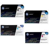HP 124A Q6000A/Q6001A/Q6002/Q6003A 4 Colors Toner Cartridges For LaserJet 2600n 1600 2605 1015 1017