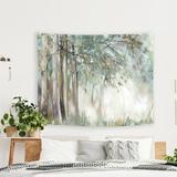 East Urban Home Microfiber PI Creative Art Tapestry in White, Size 26.0 H x 36.0 W in | Wayfair D637B5A344C449D69729E3BFBC7FB47D