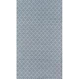 Madcap Cottage by Howard Elliott Collection Geometric Handmade Flatweave Navy Indoor/Outdoor Area Rug Polypropylene in Blue/Navy | Wayfair