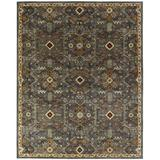 World Menagerie Steffens Oriental Handmade Tufted Multicolor Area Rug Wool in Brown, Size 120.0 H x 30.0 W x 0.5 D in   Wayfair