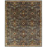 World Menagerie Steffens Oriental Handmade Tufted Multicolor Area Rug Wool in Brown, Size 108.0 H x 72.0 W x 0.5 D in   Wayfair