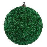 "Vickerman 532881 - 8"" Seafoam Beaded Ball Christmas Tree Ornament (2 pack) (N185944D)"