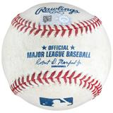 """""""Jackie Bradley Jr. Boston Red Sox Game-Used Double Baseball vs. Baltimore Orioles on August 10 2018"""""""
