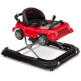 Delta Children Jeep Classic Wrangler 3-in-1 Grow With Me Walker, Red