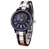SK Women Watch Wrist Watches for Women, Stainless Steel Strap Watches, Japanese Quartz Wrist Watch, Ladies Business Watch(Stainless Steel,017)