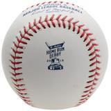 """Rawlings 2019 MLB All Star Game Home Run Derby Logo Baseball with Case"""
