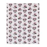 Disney Minnie Mouse Super Soft Plush Baby Blanket in Pink, Size 36.0 H x 30.0 W x 0.32 D in   Wayfair 2596501